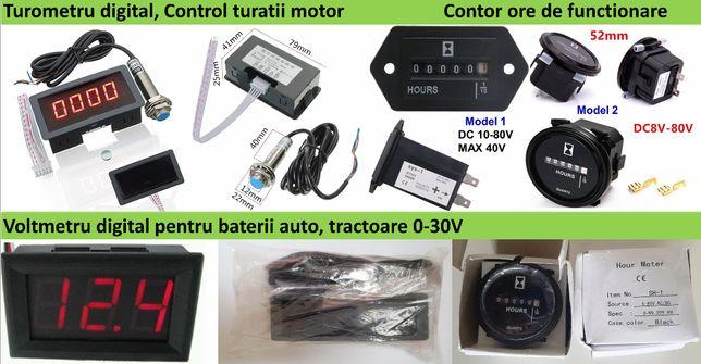 Indicator turatie combine 0-9999rot/min Nou ambalat!