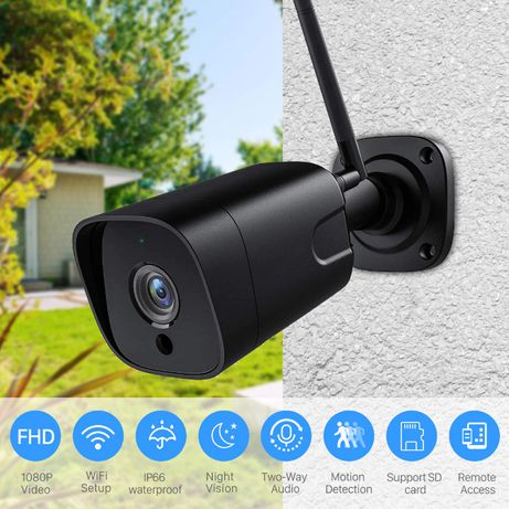 5mpx WiFi камера за видеонаблюдение, запис на карта памет, говор, звук