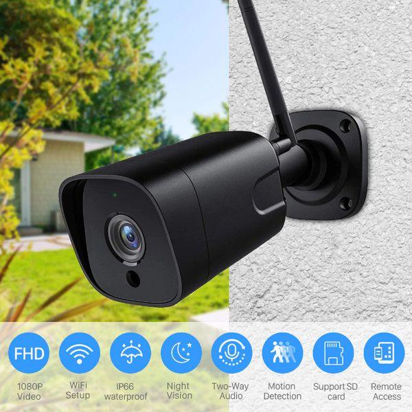 5mpx WiFi камера за видеонаблюдение, запис на карта памет, говор, звук гр. Пловдив - image 1