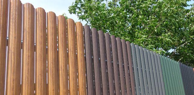 Bilka solutia pentru acoperis acum si in RATE / sipca metalica gard