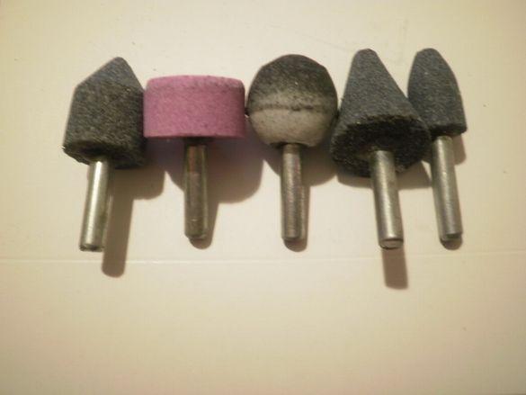 камъни за полиране- комплект от 5бр.