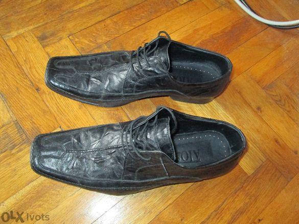 Мъжки обувки естествена кожа нови