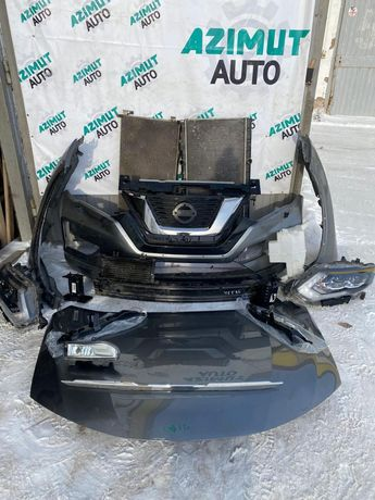Nissan x-trail qashqai бампер фара капот решетка дверь крыло радиатор