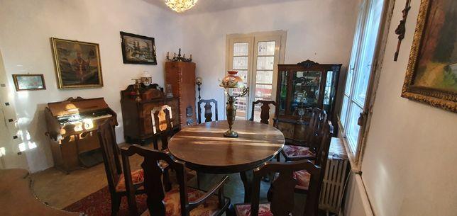 Superba garnitura de salon vintage lemn masiv