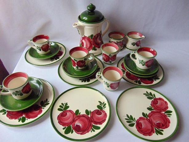 Serviciu de cafea si mic dejun ceramica austriaca Schramberg