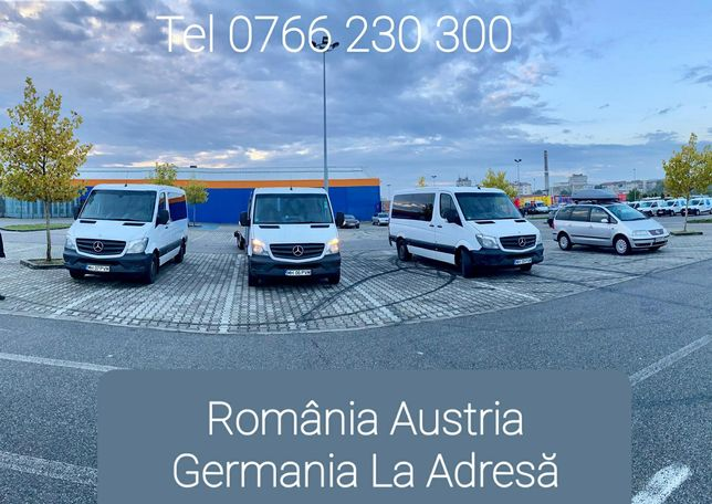 Transport Persoane International Oltenia Austria Germania La Adresa