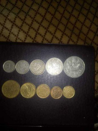 продам монеты тенге и тиын