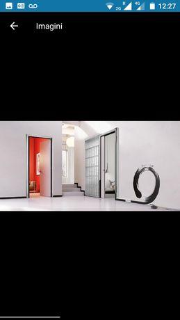 Sistem uși culisante cu ascundere in perete