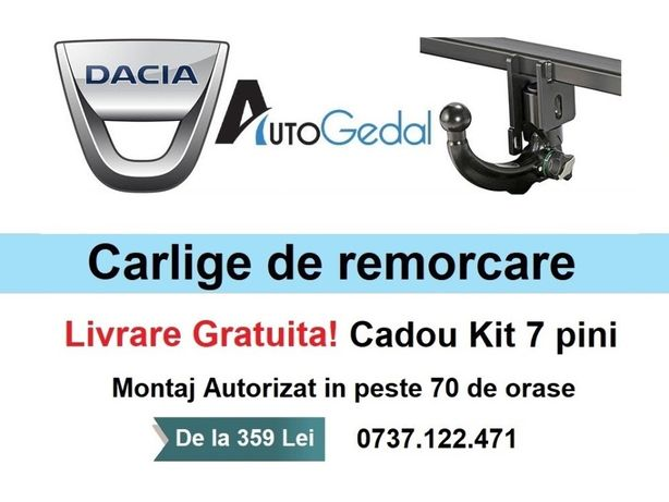 Carlig Remorcare Dacia Logan,Duster,MCV,Lodgy,Sandero,Dokker