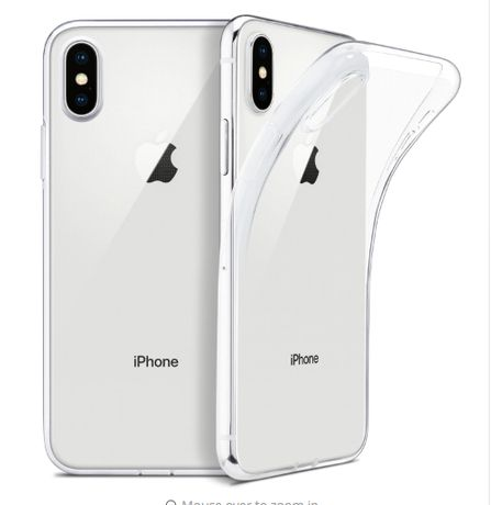 Iphone X . XS . XR . XS Max . Husa Silicon Transparent