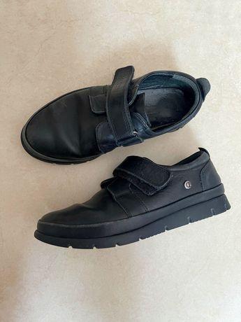 Школьные туфли для мальчика р 32 (натуральная кожа)