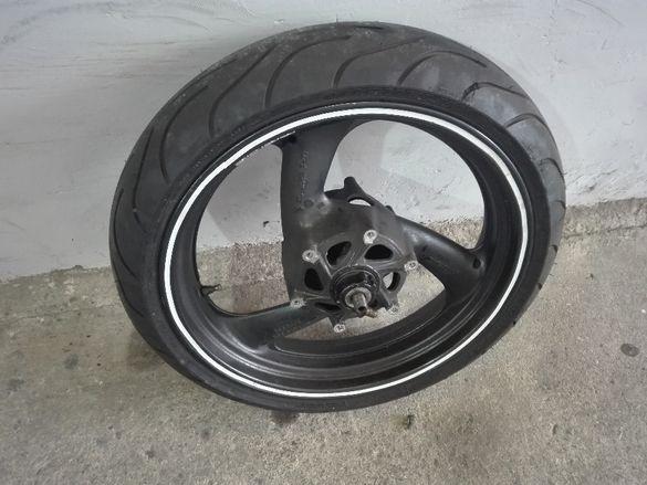 предна и задна джанта с гума yamaha yzf tundercat 600