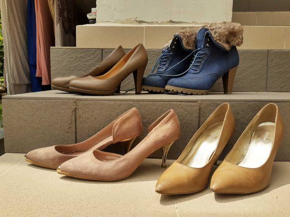 Обувки на ток и боти