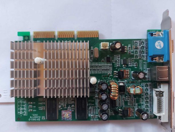 Placa video MSI NVIDIA GeForce FX 5500, 256MB, DDR, 128bit, DVI, VGA,