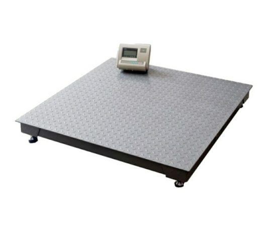 Cantar 3000kg electronic 100 x 100 cm  platforma groasa striata