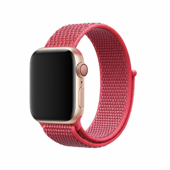 Каишка за Apple Watch 4, Watch 3 - розова 38mm/ 40mm/ 42мм/ 44мм