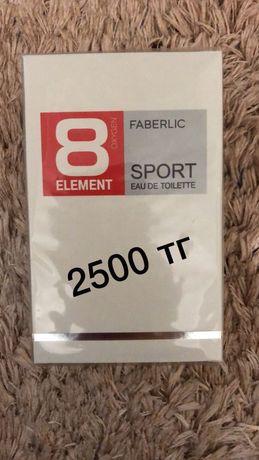Фаберлик одеколон мужской 8 element Sport