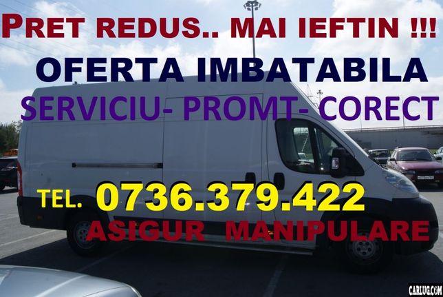 Transport mobila,MARFA,mutari,L=4,60m,moluz debarasar,EXTREM de IEFTIN