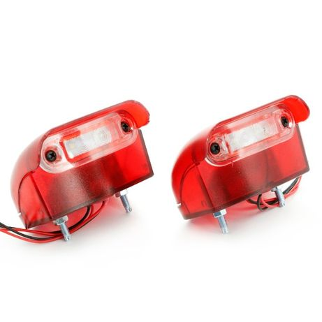 2 в 1 ЛЕД осветление за номер и габарит (заден) L00217