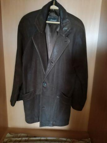 Кожаная мужская куртка Levinson (Италия).р. 50-52