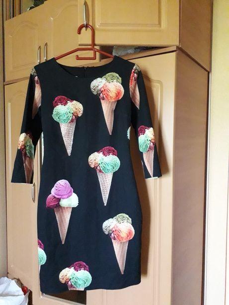 Шикарное брендовое платье Италия