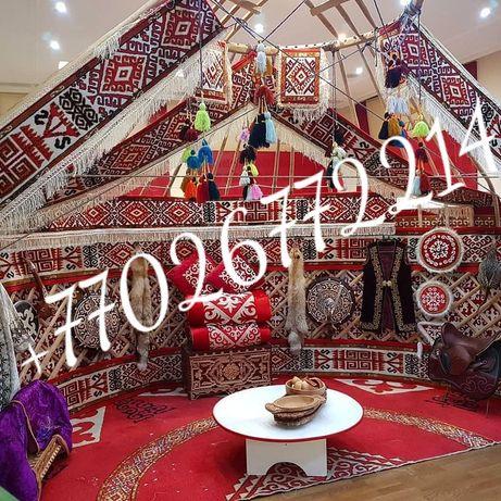 Аренда, продажа 6-12канатных юрт (юрта, юрты)в Алматы, Алматинская обл