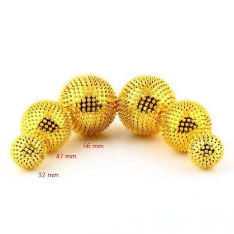 2 броя 32mm Игловидни магнитни топки за масаж и акупресура