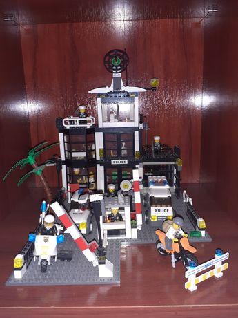 Lego statie de politie + alta masina de politie cadou