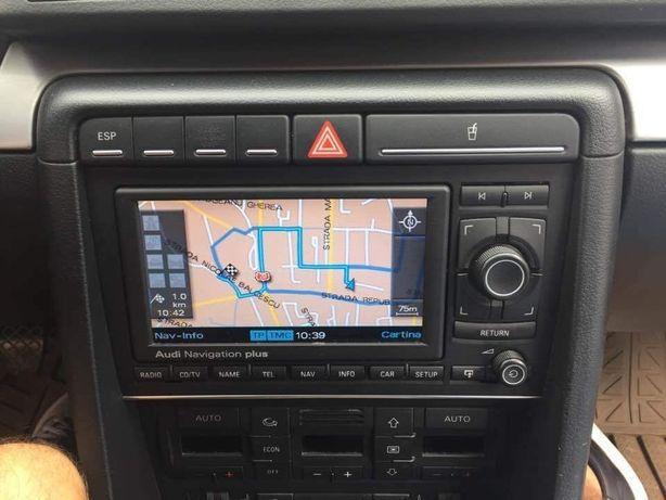 Dvd Navigatie Rns Plus Audi A4,A3