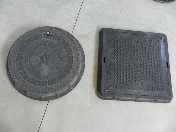 Capace capac canal fosa decantor model rotund patrat 70/70 65/65
