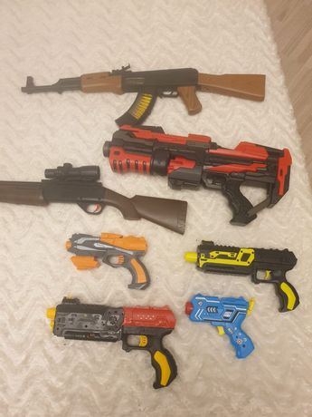 Продам все детские пистолеты за 10 000