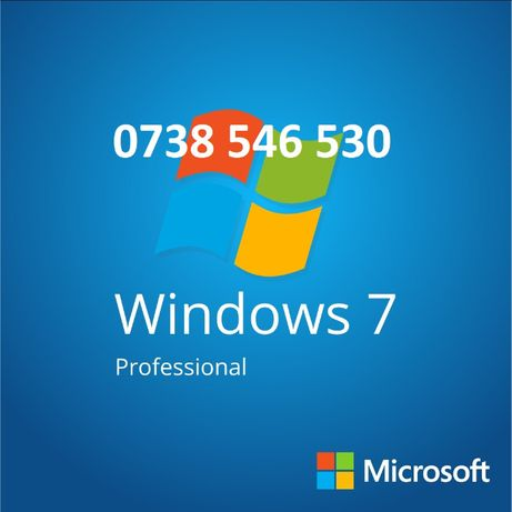 Stick / DVD sigilat Windows 7 Professional original cu licenta Retail