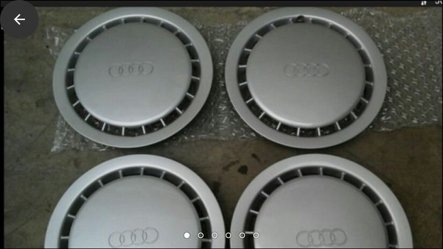 Capace NOI ORIGINALE Audi 14/13, VW originale 13