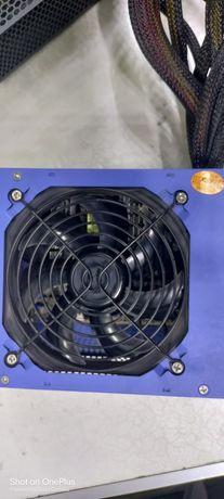 Блок питания для ПК ,бу в рабочем состоянии все обслужена мощность 500