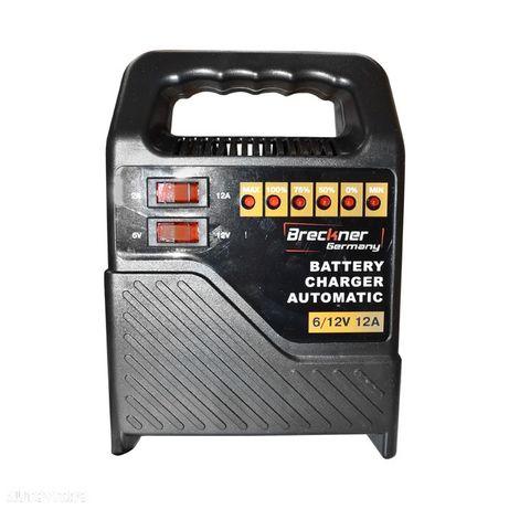 Incarcator redresor baterie auto 6V/12V 12A Breckner Germany Incarcator redresor baterie auto 6V/12V 12A Breckner Germany