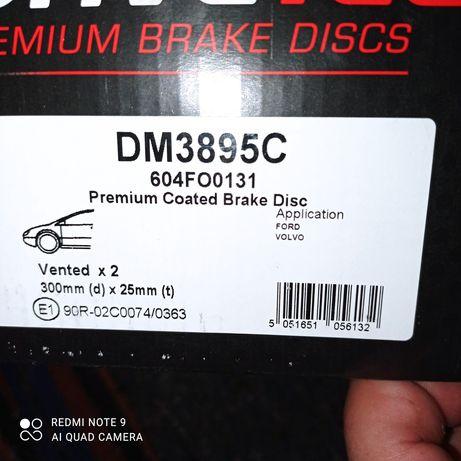 Комплект предни дискове и накладки за Волво и Форд