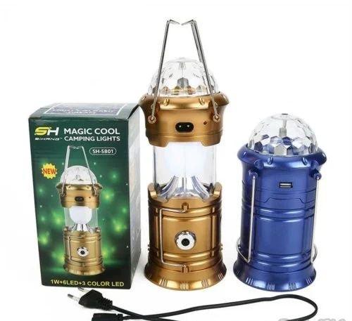 Кемпинговый фонарь с диско с шаром повербанк складной фонарь 4в1