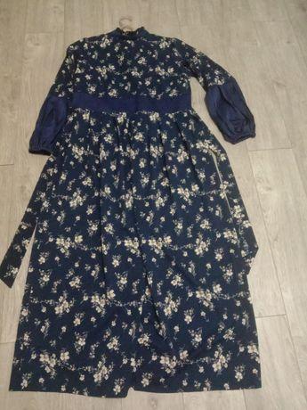 Продам жен длинное платье новый