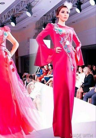 Платье от дизайнера Гаухар Амировой (Актау)