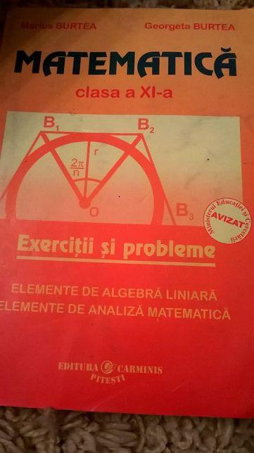 matematica xl xll M1 culegeri bac