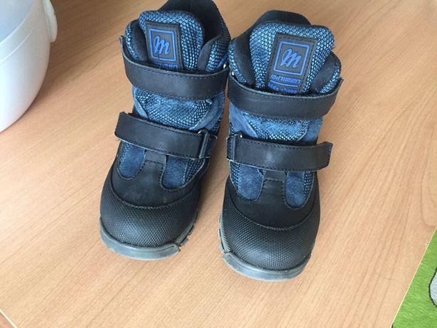 Продам кожанные ботинки Minimen,очень теплые,не промокают
