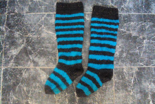 Шерстяные носки высокие.