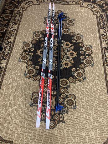 Беговые лыжи новые