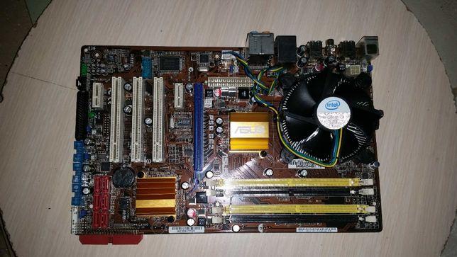 placa de baza p5QSE2 rev1.0 plus procesor