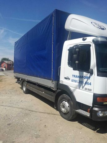 Transport marfa camion 7,5t   4 TONE UTIL  prelata cu lift