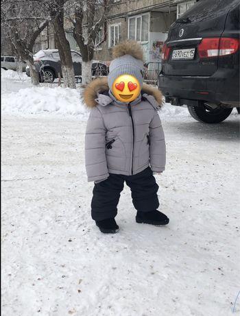 Детский зимной костюм