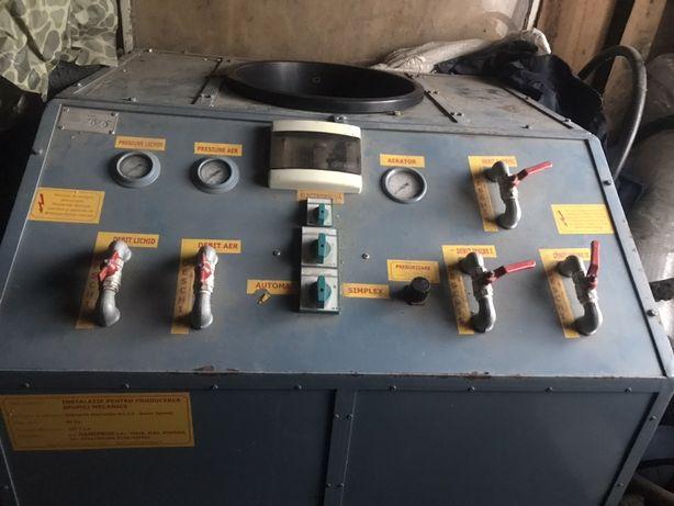 Mașina de spuma pentru bolțari, BCA , BCU producerea spumei Mecanice