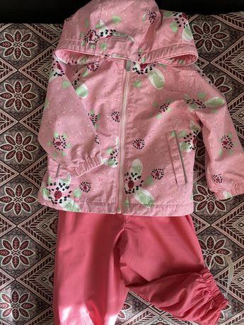 Демисезонная куртка и комбинезон для девочек