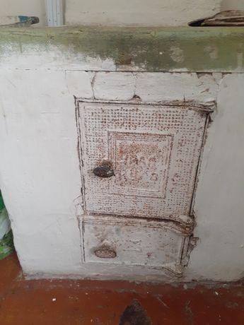 Продам плиту  с кольцами с дверьками на банюна печку