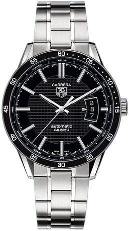 Часовник Tag Heuer Carrera 05 Date Black DIal Steel